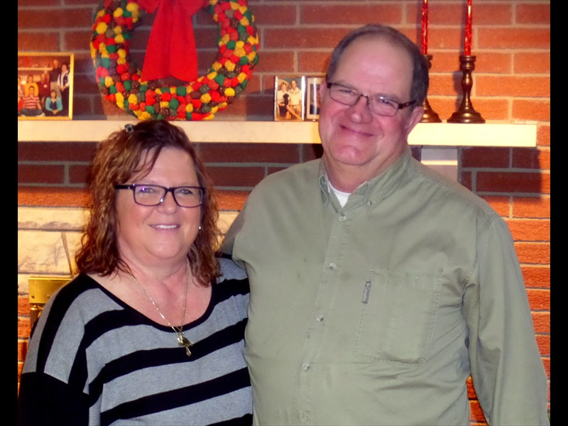 Joanie and Brent